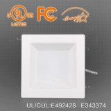 8 pouces carrés 30/36/40/45haute luminance W vers le bas LED lumière encastrée