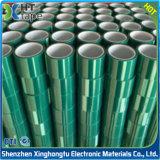 Ruban de silicones de polyester de température élevée pour l'enduit de poudre