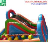 販売、スライドとの安く膨脹可能な障害のための小さく膨脹可能な障害物コース