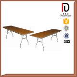 Vector de madera plegable redondo Br-T053 del metal del vector de banquete del hotel