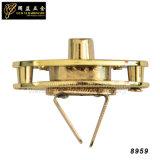 Bloqueo decorativo de la prensa del metal de la alta calidad de la manera para el bolso (8959)