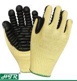 Покрытие из латекса вырезать устойчив из арамидного трикотажные механическая безопасность рабочие перчатки