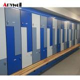 O laminado de HPL impermeável cacifos barata, Magnificas Banheira Venda barato armário compacto, armário de armazenamento à prova de água