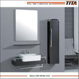 ミラーが付いている合板の浴室用キャビネットの洗浄手洗面器