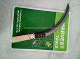 Серп сада серпа с древесиной & пластичным вырезыванием ручки увидел
