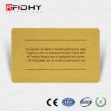 Preço inferior MIFARE (R) 1K Cartão de papel de RFID para pagamento de bilhete