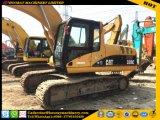 La oruga 320c utilizó el excavador, excavador usado del gato 320c del material de construcción