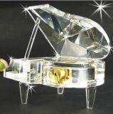деталь кристалла венчания кубика одуванчика сувенира украшения 3D выгравированный лазером кристаллический
