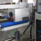 Автоматическая подача по горизонтали Зеленые упаковки продукта оборудования подушки подушки безопасности четких стандартов на свежие фрукты и овощи упаковка