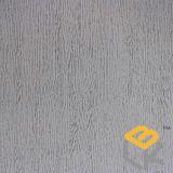 Papel decorativo da grão da madeira de carvalho branco para a mobília ou porta do fabricante chinês