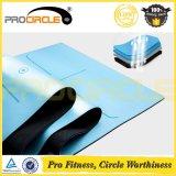 Stuoia di gomma Premium di yoga di Procircle Natual