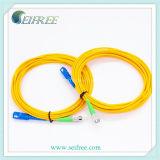 3m einzelner Modus-Simplexsc FC Faser-zum Optiksteckschnür-Kabel