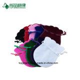 Выдвиженческие цветастые изготовленный на заказ дешевые мешки подарка чертежа бархата способа и неподдельный мешок бархата