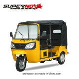 150cc с водяным охлаждением воздуха три Уилер Richshaw 6 пассажиры мотоциклов на инвалидных колясках
