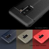 2018 neuer Fall des Entwurfs-Leder-Muster-TPU für Samsung-Galaxie S9 plus