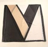 Kontrast-Farben-Verbindung gedruckter Kunstseide-Form-Schal (HT14)