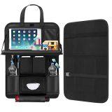 Kundenspezifischer PU-Auto-Rücksitz-Organisator für Speicherung mit 10 Taschen