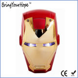 Superman o Homem de Ferro Face Bateria de Alimentação externa USB de Design (XH-PB-138)
