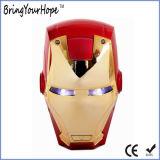 Batería externa de la potencia del USB del diseño de la cara del hombre del hierro del supermán (XH-PB-138)