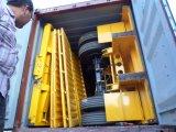 Remorque bon marché de cargaison de frontière de sécurité de Tri-Essieu des prix, remorque de cargaison