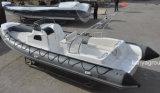 Vedette militaire de bateaux de croiseur de cabine de Liya 27feet à vendre