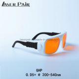 Boa visibilidade Óculos de protecção laser 266nm, 355nm, 515nm, 532nm para o olho do laser levante/ Resurfacing Pele Laser