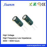 160V 68UF de Elektrolytische Condensator van het Aluminium van de Hoogspanning