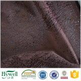 Il micro sofà del cuoio della pelle scamosciata del poliestere ricopre il tessuto della mobilia