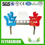 튼튼한 식탁 및 의자는 4 사람을%s 놓았다 (DT-06)