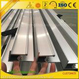 Extrusion en aluminium faite sur commande de mur en verre de constructeur en aluminium de la Chine