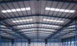 Magazzino chiaro della struttura d'acciaio del magazzino del gruppo di lavoro della struttura del blocco per grafici d'acciaio
