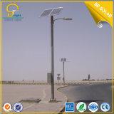 fabricación de oro solar del alumbrado público de 30W LED los 6m poste