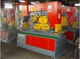 Trabalhador hidráulico Multifunction do ferro Q35y-25/máquina de corte para a estaca do ângulo