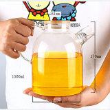 1500ml Pyrexのやかんのガラス茶鍋