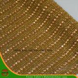 新しいデザイン熱伝達の付着力の水晶樹脂のラインストーンの網(HAYY-1765)