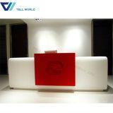 Comptoir de service moderne de marbre/réception/bureaux de réception