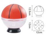 Refraîchissant eau-air de bureau de la forme USB de basket-ball mini