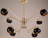 Moderne hängende Lampen-verzierenhotel-industrielle Art-Aufhebung-Beleuchtung der runden Kugel-2017