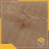 A través del papel decorativo del grano de madera de roble para los muebles, la puerta o el guardarropa del fabricante chino