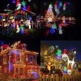 Wasserdichtes Partei-Rasen-Licht des Schneeflocke-Projektor-RGBW des Weihnachtenled