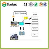 48V4kw weg Rasterfeld-Ausgangsvom solarinstallationssatz-Sonnenkollektor-Energie-Stromnetz