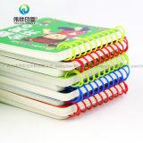 Proveedor de China el arte de los niños de papel la libreta de espiral servicio de imprenta