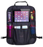 Kundenspezifischer Polyester-Auto-Rücksitz-Organisator mit iPad Halter für Kinder