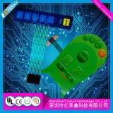 Interruptor de membrana tátil gravado abóbada das chaves com materiais de FPC
