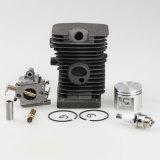 les nécessaires d'axe de piston de cylindre de 38mm pour la pompe de Zama +Oil de carburateur + la bougie d'allumage ajuste des pièces de tronçonneuse de Stihl Ms180 018