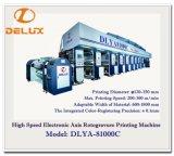 Shaftless, máquina de impressão de alta velocidade do Rotogravure (DLYA-81000C)