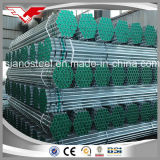 L'acciaio dolce ha galvanizzato le parentesi galvanizzate d'acciaio del tubo d'acciaio del tubo di aria/colonne di ormeggio galvanizzate scaffalatura galvanizzate del tubo d'acciaio del tubo d'acciaio