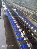 Examinational Handschuh, der den Maschinen-Inspektion-Handschuh herstellt Maschine eintaucht