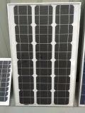 Los mono paneles solares 100W con el marco de aluminio