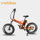 Bici eléctrica de la pequeña de 20 pulgadas de litio de la batería nieve gorda del neumático